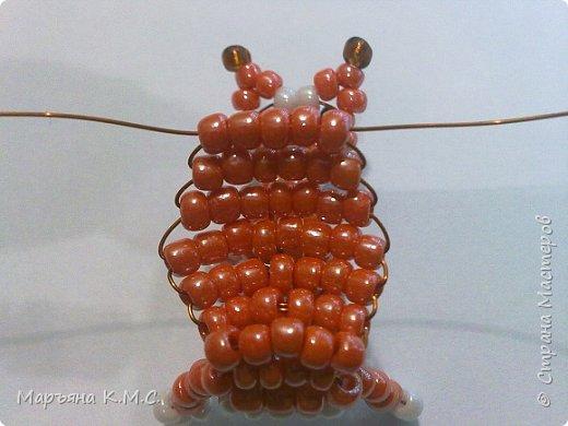 Белочка в технике объемного паралельного плетения. Это мое творение. Белочка была придумана мною несколько лет назад. Решила сделать очень подробный мастер-класс. Надеюсь, что вам понравится) фото 56