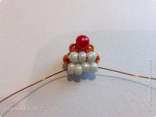 Белочка в технике объемного паралельного плетения. Это мое творение. Белочка была придумана мною несколько лет назад. Решила сделать очень подробный мастер-класс. Надеюсь, что вам понравится) фото 8