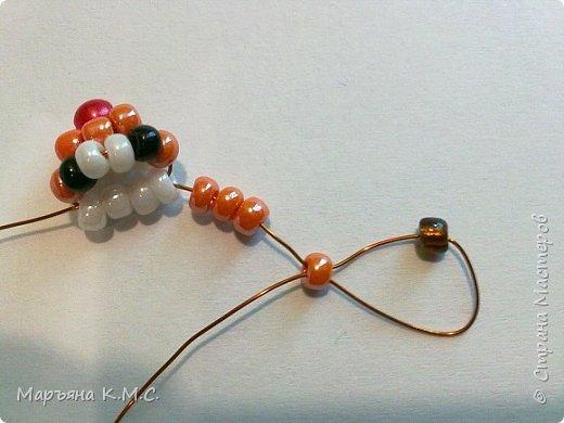 Белочка в технике объемного паралельного плетения. Это мое творение. Белочка была придумана мною несколько лет назад. Решила сделать очень подробный мастер-класс. Надеюсь, что вам понравится) фото 9