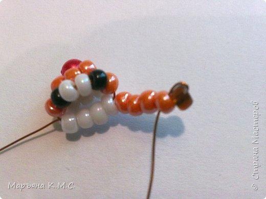 Белочка в технике объемного паралельного плетения. Это мое творение. Белочка была придумана мною несколько лет назад. Решила сделать очень подробный мастер-класс. Надеюсь, что вам понравится) фото 10