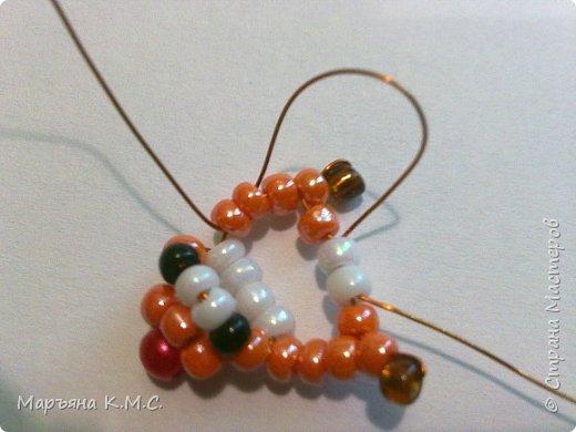 Белочка в технике объемного паралельного плетения. Это мое творение. Белочка была придумана мною несколько лет назад. Решила сделать очень подробный мастер-класс. Надеюсь, что вам понравится) фото 14