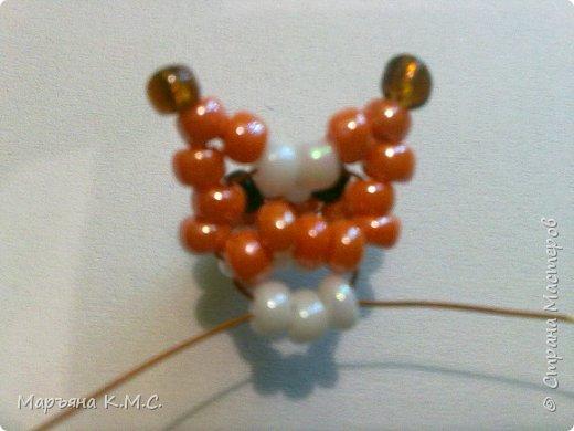 Белочка в технике объемного паралельного плетения. Это мое творение. Белочка была придумана мною несколько лет назад. Решила сделать очень подробный мастер-класс. Надеюсь, что вам понравится) фото 17