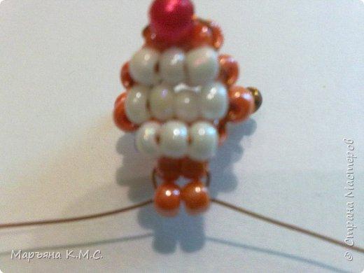 Белочка в технике объемного паралельного плетения. Это мое творение. Белочка была придумана мною несколько лет назад. Решила сделать очень подробный мастер-класс. Надеюсь, что вам понравится) фото 19