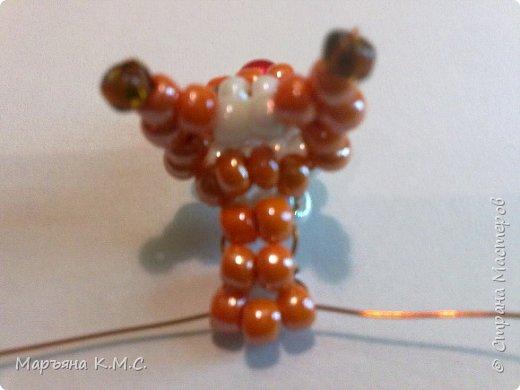 Белочка в технике объемного паралельного плетения. Это мое творение. Белочка была придумана мною несколько лет назад. Решила сделать очень подробный мастер-класс. Надеюсь, что вам понравится) фото 21