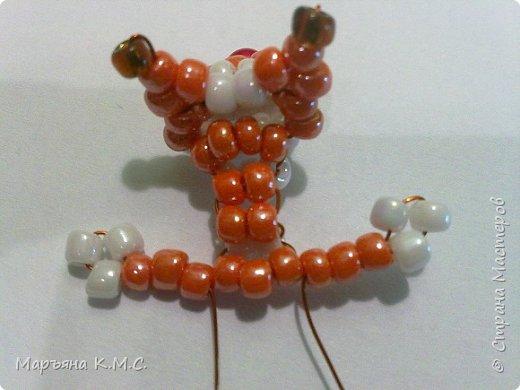Белочка в технике объемного паралельного плетения. Это мое творение. Белочка была придумана мною несколько лет назад. Решила сделать очень подробный мастер-класс. Надеюсь, что вам понравится) фото 24
