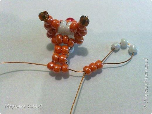 Белочка в технике объемного паралельного плетения. Это мое творение. Белочка была придумана мною несколько лет назад. Решила сделать очень подробный мастер-класс. Надеюсь, что вам понравится) фото 23