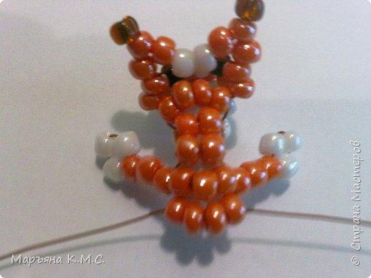 Белочка в технике объемного паралельного плетения. Это мое творение. Белочка была придумана мною несколько лет назад. Решила сделать очень подробный мастер-класс. Надеюсь, что вам понравится) фото 26