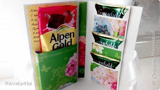Открытки - шоколадницы к 8 марта фото 11