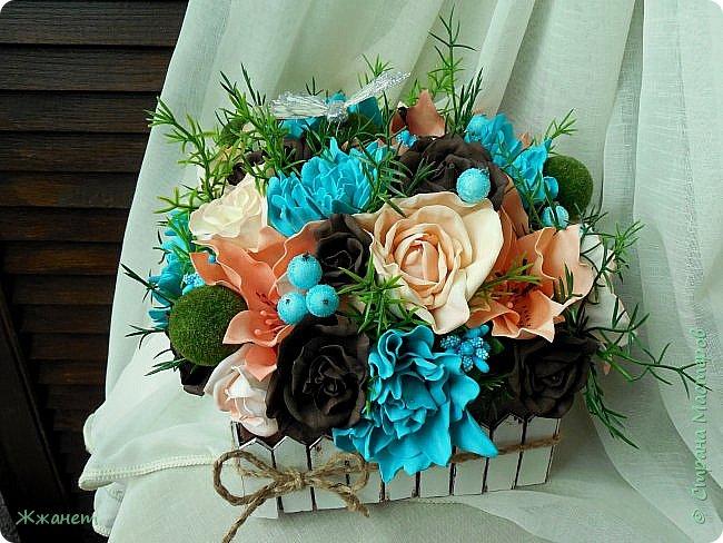 Клумба с цветами №1. фото 2