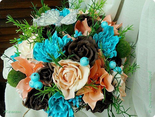 Клумба с цветами №1. фото 1