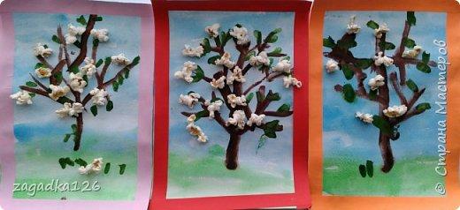 Для выставки в сад мои дети (4г - дочка, 5лет 4мес - сын, 4г - племянник) сделали такую работу. Понесли мы только один вариант, но интересно ведь было делать всем )))  фото 1