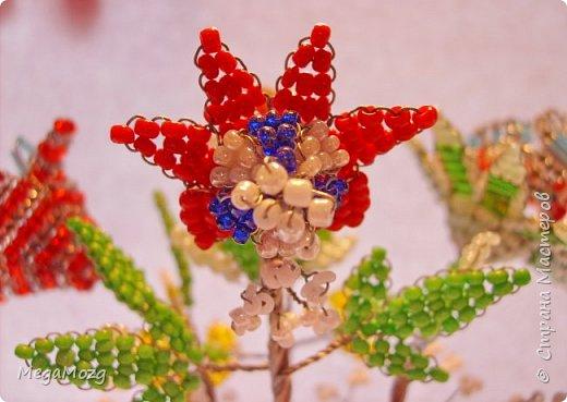 """Представляю вашему вниманию мои самые-самые первые в жизни цветы из бисера, которые я сплела ещё в далёком детстве, в году эдак 2002 или третьем, или... я не помню, но помню, что училась ещё в школе и мне хотелось создать такие цветы, которых нет в природе))) Придумывала и плела прямо на ходу, после уроков. Процесс мне очень понравился и я берегла эти цветочки. Спасибо за внимание! """"Детство, детство, ты куда бежишь?..."""" фото 11"""