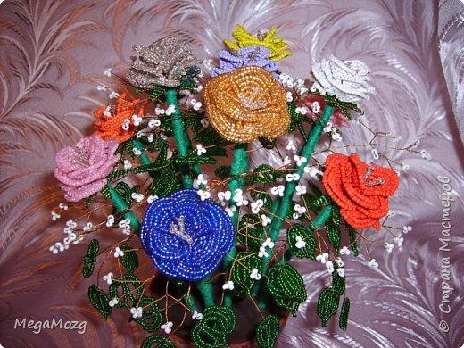 Эти цветочки я плела года 4 назад на Новый Год в подарок крёстной. Идея была мамина, плела же только я))) Видела эти цветочки на просторах СМ, тока я их не правильно собрала, потому что все лепестки расползлись, увы. Но всё равно получилось симпатично! Сильно не ругайте, просто до этого я ещё никогда цветы не плела *покраснел* фото 6