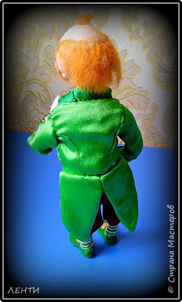 Добрый вечер жители волшебной страны!!!!!!! Сегодня представляю вашему вниманию свою новую работу Леприкона с горшочком золота!!!!  фото 5