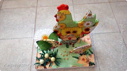 Всем здравствуйте! Сделала поделку для детского сада, в группу младшего сыночка! фото 2
