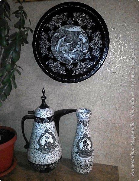 Вот еще одно изделие - ваза к теме Востока. фото 2