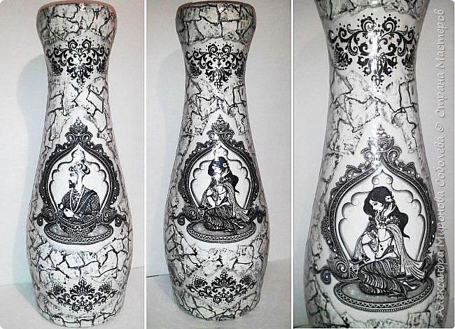 Вот еще одно изделие - ваза к теме Востока. фото 1