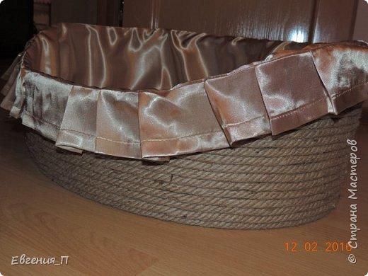 Добрый вечер! Ураааа, случилось чудо, я доделала корзину для нашей собакеевны!!! Начало тут http://stranamasterov.ru/node/955882  фото 2