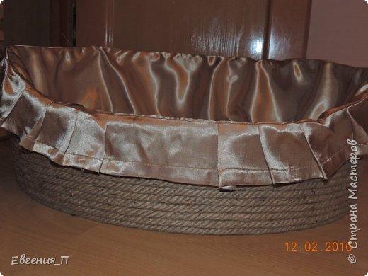 Добрый вечер! Ураааа, случилось чудо, я доделала корзину для нашей собакеевны!!! Начало тут http://stranamasterov.ru/node/955882  фото 1
