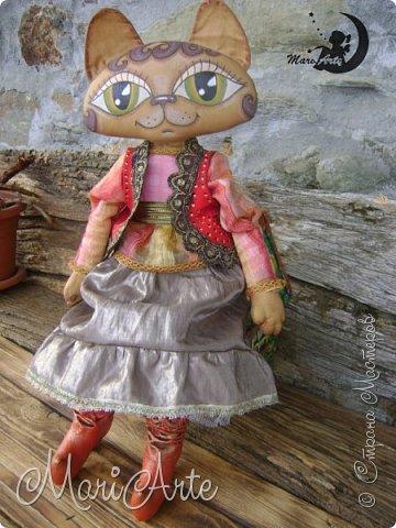 Здравствуйте всем!! Идею такой мордашки у кошечки, я увидела в интернете.  Выкройку сделала сама фото 8