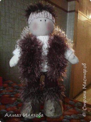 текстильные куколки снежки фото 10
