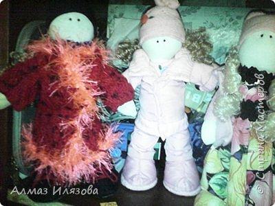 текстильные куколки снежки фото 9
