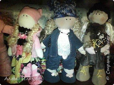 текстильные куколки снежки фото 8