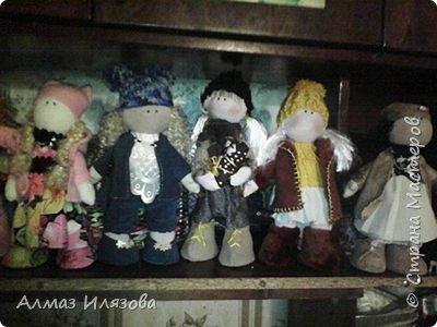 текстильные куколки снежки фото 7