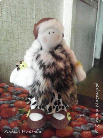 текстильные куколки снежки фото 6