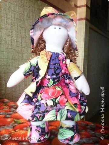 текстильные куколки снежки фото 4