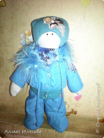 текстильные куколки снежки фото 3