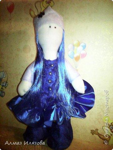 текстильные куколки снежки фото 2