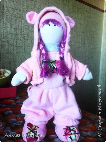 текстильные куколки снежки фото 1