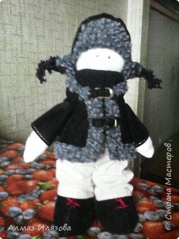 текстильные куколки снежки фото 13