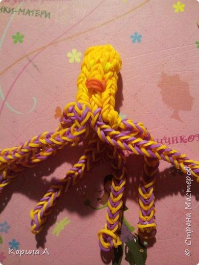 Здравствуйте! Сплела (где-то пол года назад) осьминого. фото 1