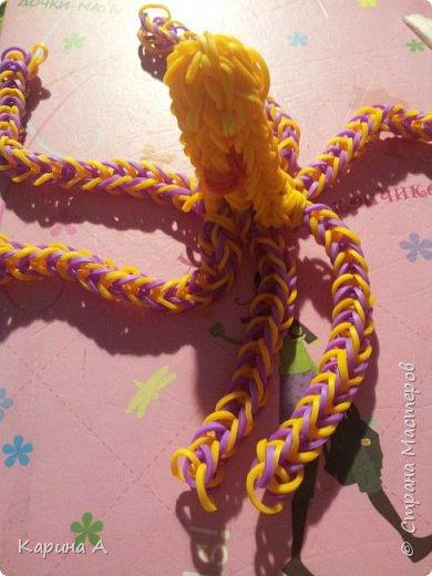 Здравствуйте! Сплела (где-то пол года назад) осьминого. фото 2