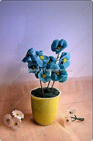 рог изобилия из лозы(цветы сборные:смесь из сухоцветов и холодный фарфор) фото 2