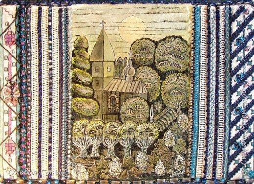 """Картина """"Церковь в каштанах"""" -создание одухотворенного образа."""