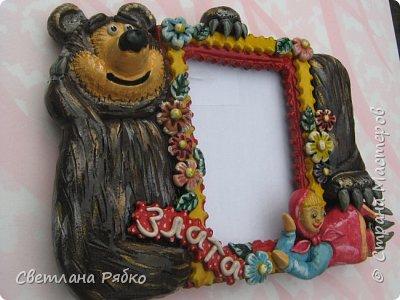 Фоторамочка для девочки Златочки. Идею взяла у d1nara http://stranamasterov.ru/node/542466 фото 3