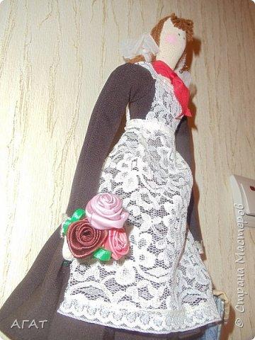 Всем -добрый вечер! Сшила себе очередную куколку, назвала её Ритой. Кукла - воспоминия о школьных годах. фото 3