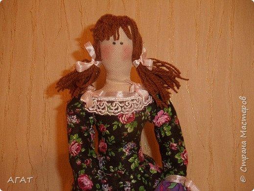 Куколка в ситцевом платье - очередное моё творение. фото 2