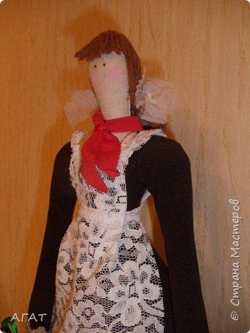 Всем -добрый вечер! Сшила себе очередную куколку, назвала её Ритой. Кукла - воспоминия о школьных годах. фото 2