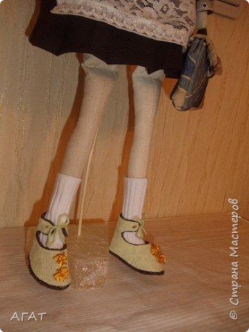 Всем -добрый вечер! Сшила себе очередную куколку, назвала её Ритой. Кукла - воспоминия о школьных годах. фото 5