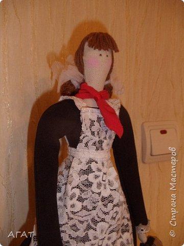Всем -добрый вечер! Сшила себе очередную куколку, назвала её Ритой. Кукла - воспоминия о школьных годах. фото 6