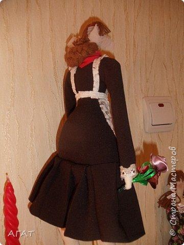 Всем -добрый вечер! Сшила себе очередную куколку, назвала её Ритой. Кукла - воспоминия о школьных годах. фото 8