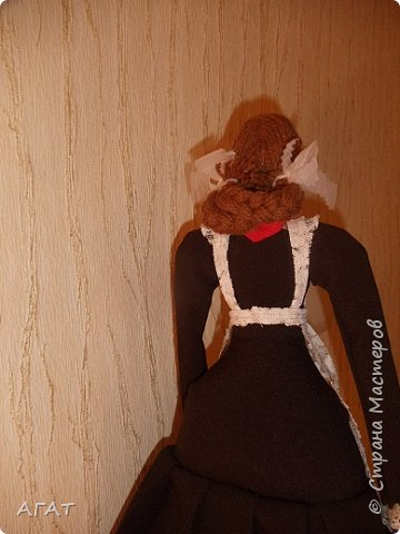Всем -добрый вечер! Сшила себе очередную куколку, назвала её Ритой. Кукла - воспоминия о школьных годах. фото 7
