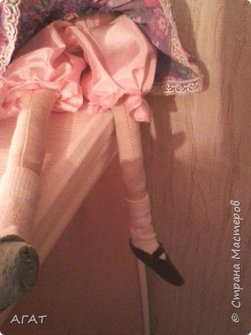 Куколка в ситцевом платье - очередное моё творение. фото 5