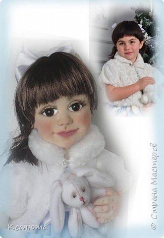 Маленькая принцесса.Кукла по фото. фото 4