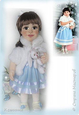Маленькая принцесса.Кукла по фото. фото 2