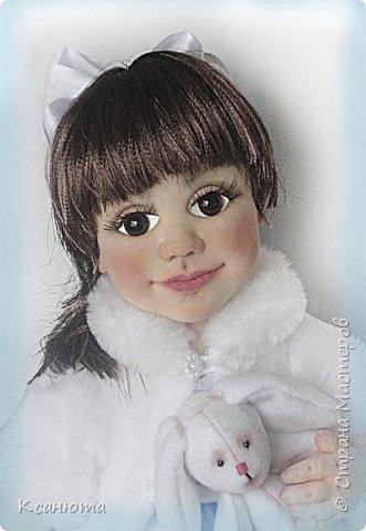 Маленькая принцесса.Кукла по фото. фото 1